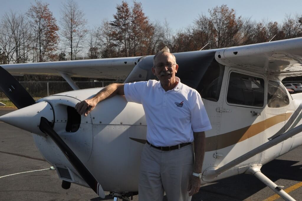 Our Chief Pilot, Peter Rafle will transform you into a participating co-pilot.