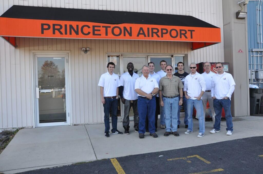 Princeton Airport Flight School Team