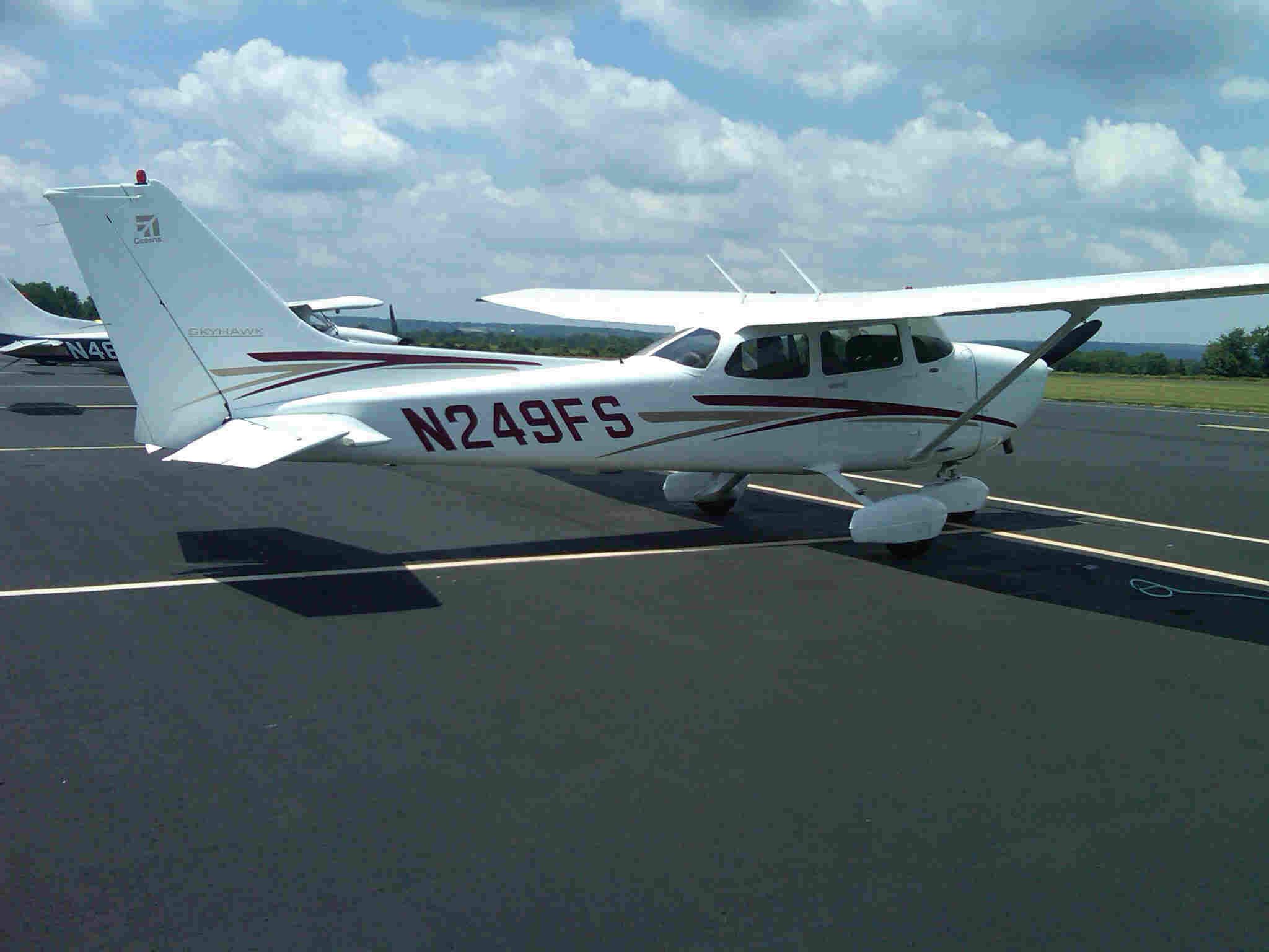 CESSNA 172R with G1000