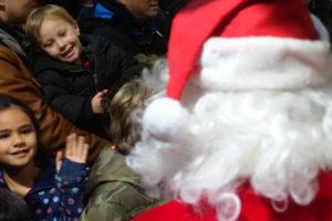 Santa Flies Into Princeton Airport