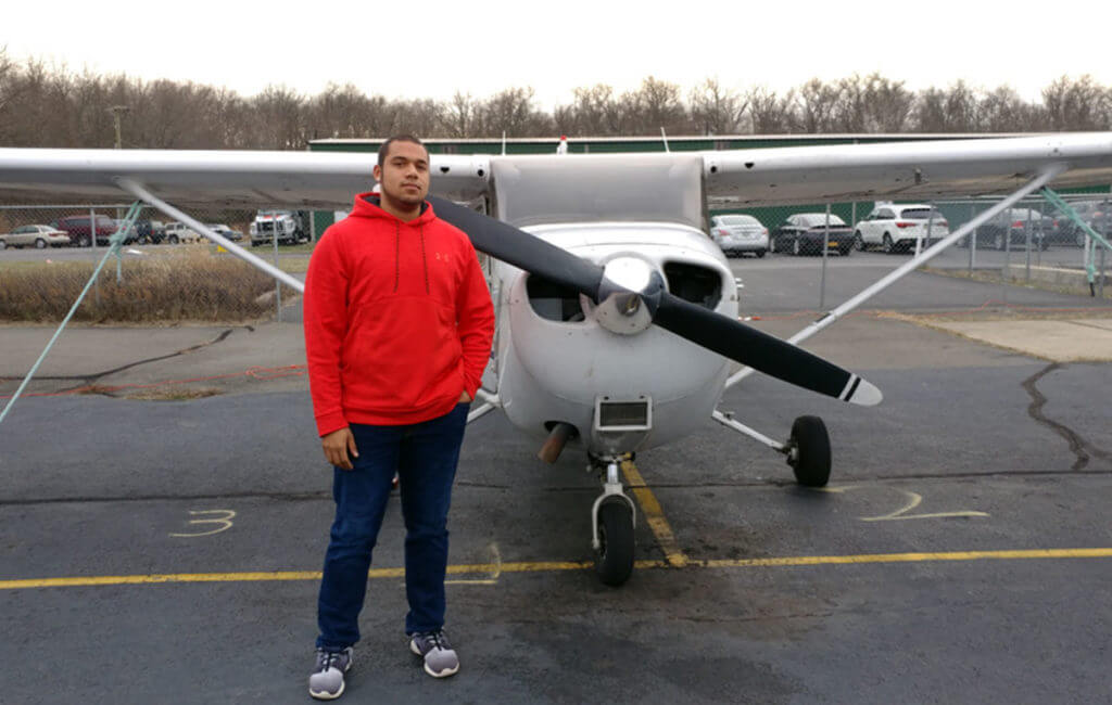 Brandon Broadway, Flight Instructor, Princeton Flying School