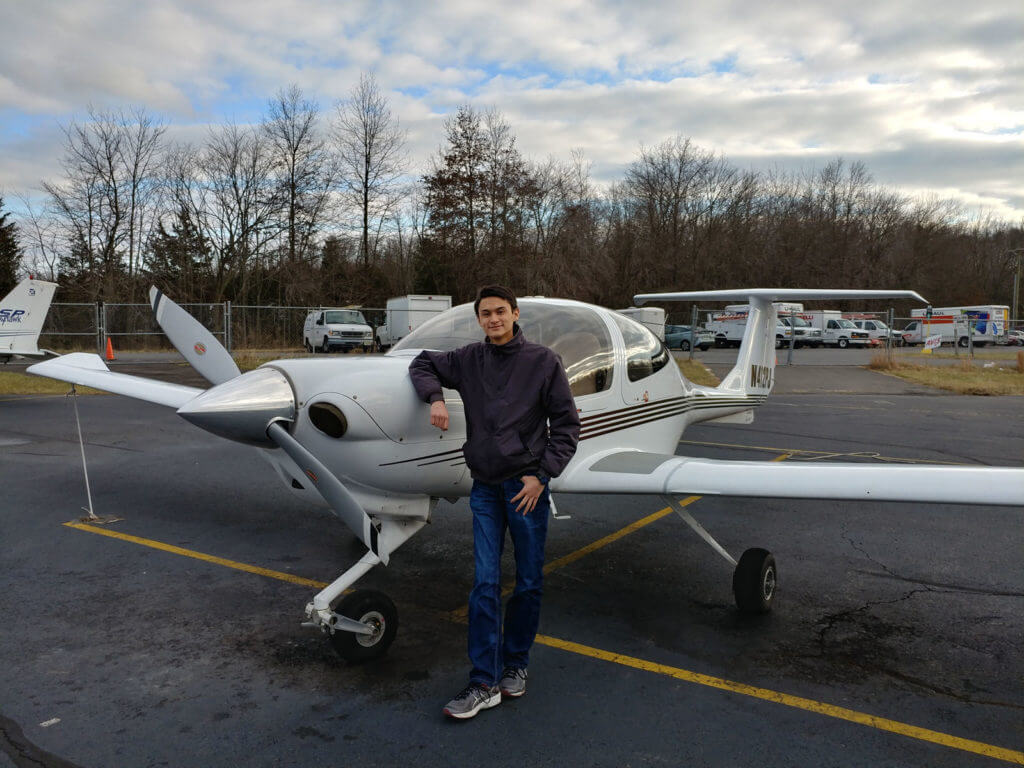 Michael Siniakin, Flight Instructor, Princeton Flying School