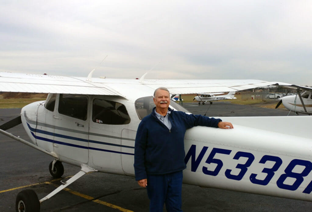 Stephen Hansell, CFI, Princeton Flying School