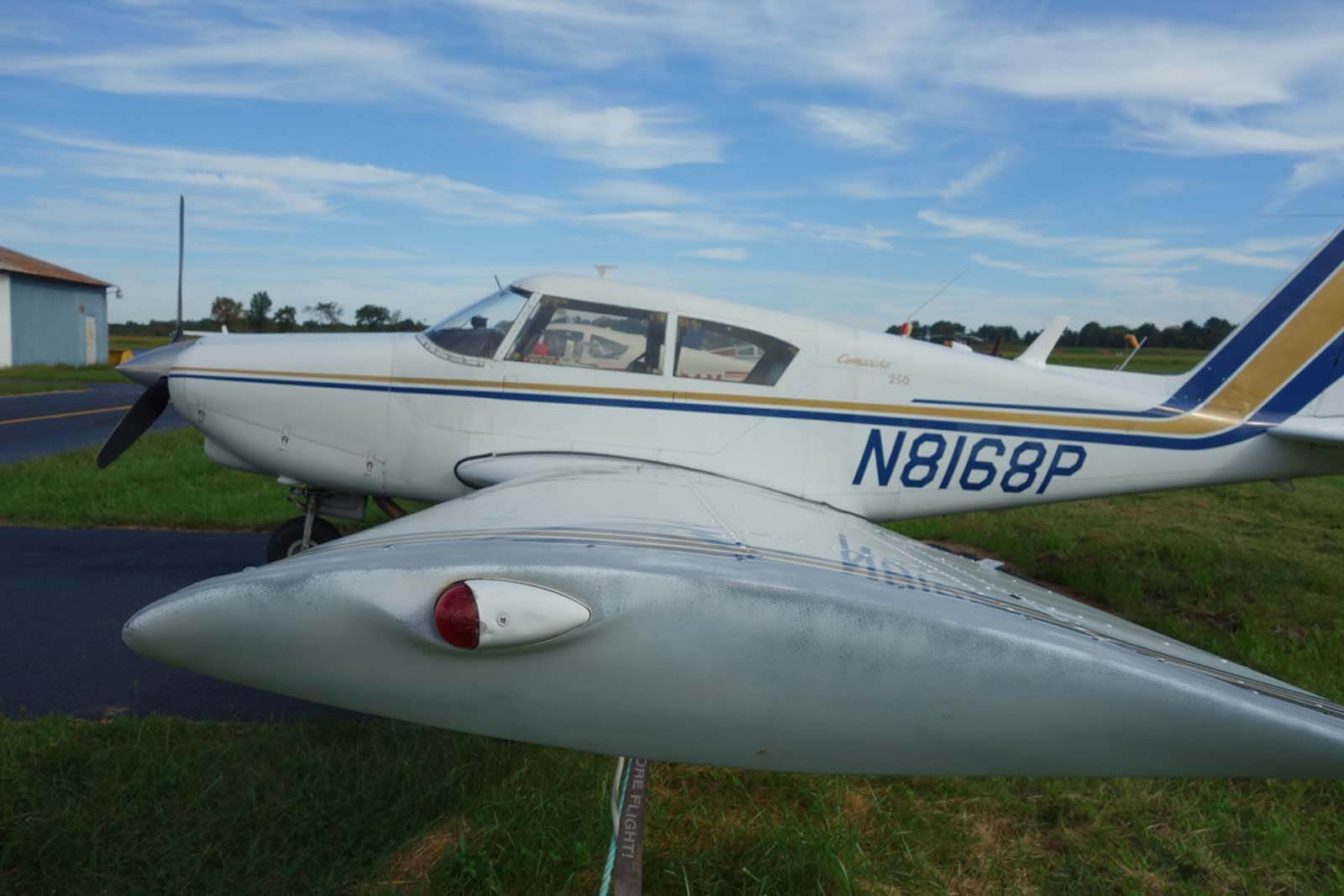 1963 Piper 250 Commanche – FOR SALE at Princeton Airport - Contact Ken Nierenberg at 609-731-4628[