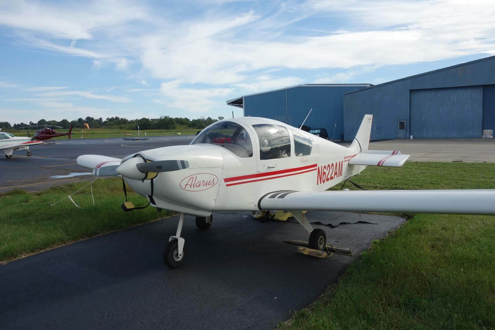 2003 Alarus CH 2000 – FOR SALE at Princeton Airport - Contact Ken Nierenberg at 609-731-4628