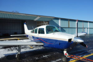 1976 beech C24R Sierra – FOR SALE at Princeton Airport
