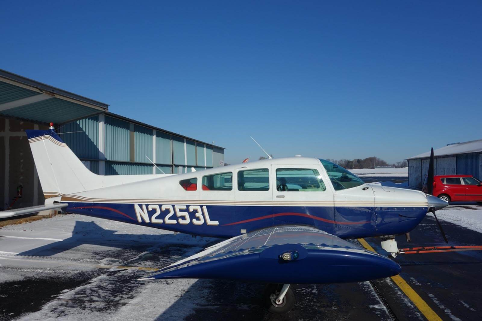 1976 Beech C24R Sierra - FOR SALE at Princeton Airport