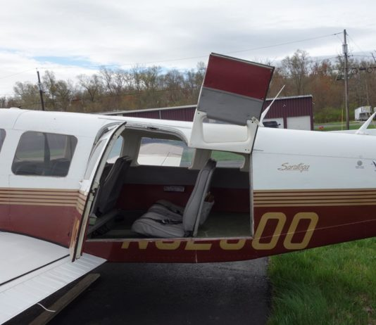 1980 Piper Turbo Saratoga Fixed Gear ~ FOR SALE at Princeton Airport