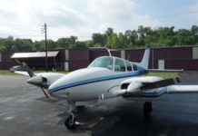 1961 B-55 Baron – FOR SALE at Princeton Airport – Contact Ken Nierenberg at 609-731-4628 for details.