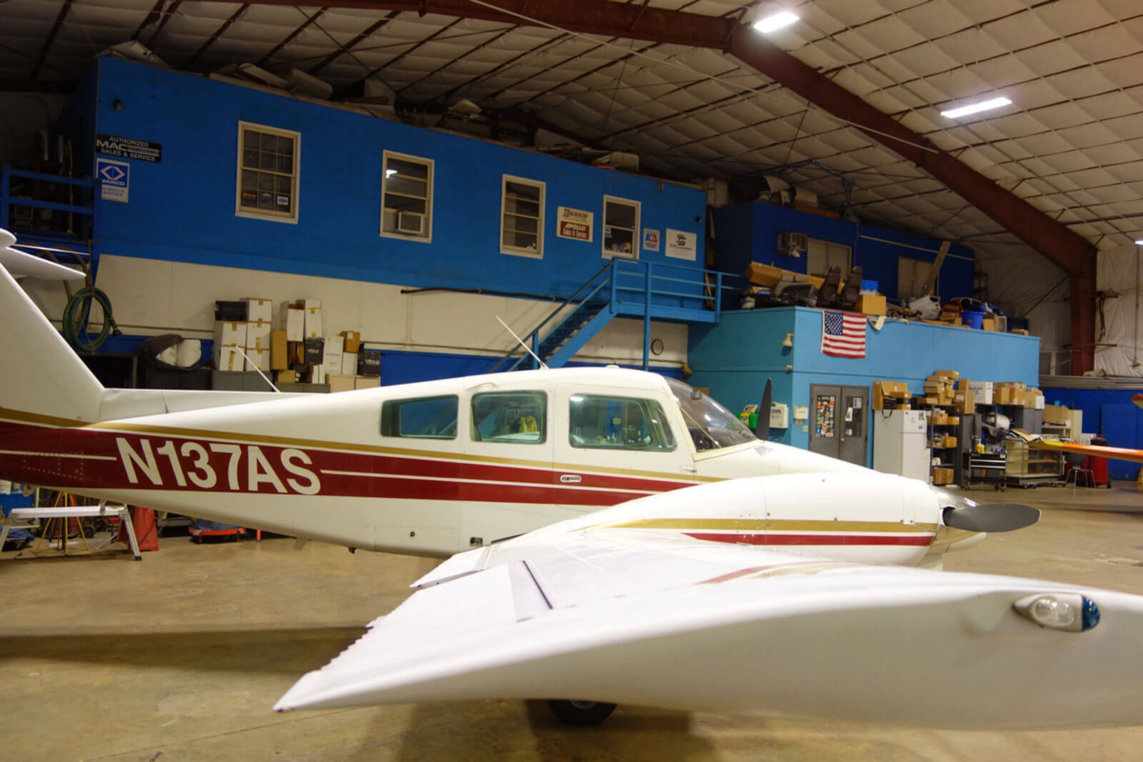 1978 Beech Dutchess 76 - FOR SALE at Princeton Airport Contact Ken Nierenberg at 609-731-4628 for details
