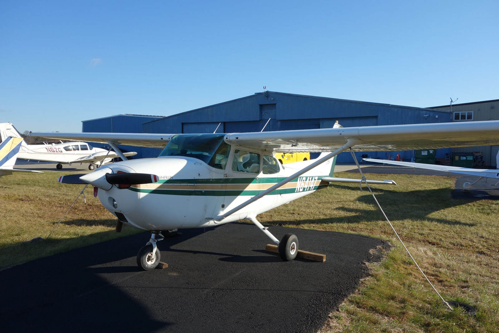 1975 Cessna 172 Skyhawk ~ FOR SALE at Princeton Airport