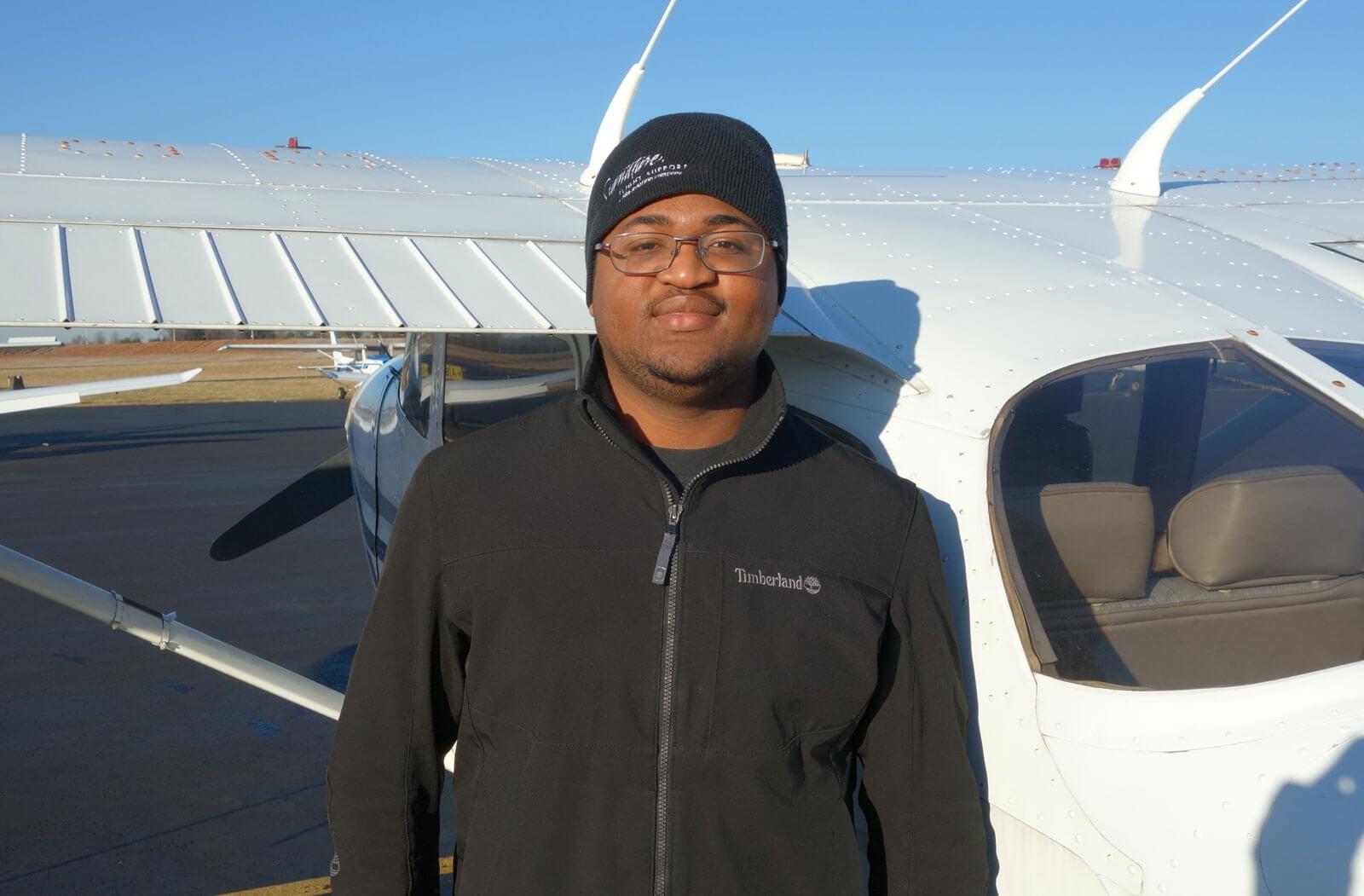 Elijah Johnson, CFI, Princeton Flying School