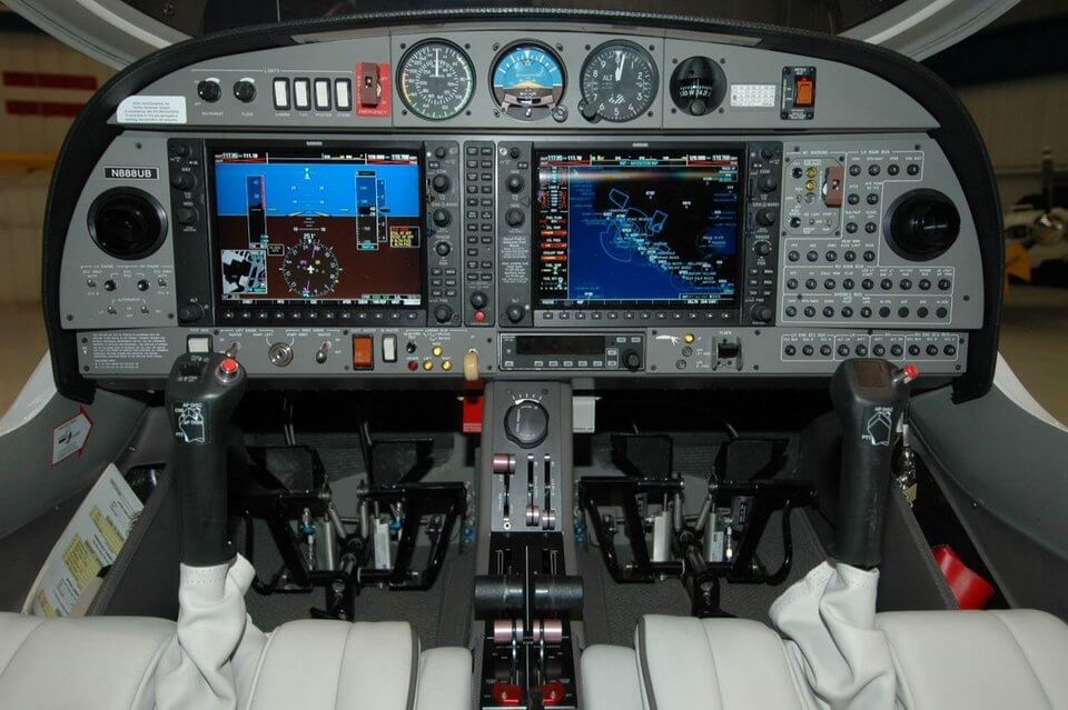DA 42-Interior