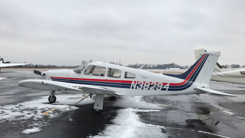 1977 Piper Arrow ~ FOR SALE at Princeton Airport ~ Contact Ken Nierenberg at 609-731-4628 for details