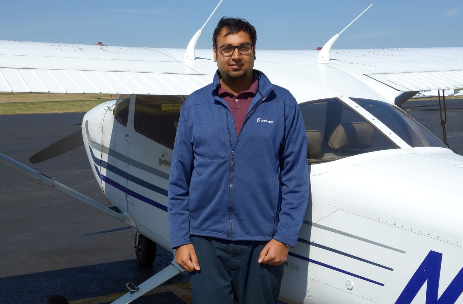 Saad Sheikh, CFI, Princeton Flying School