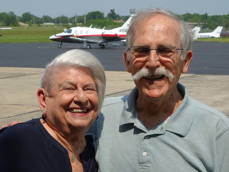 Naomi Nierenberg and Pete Rafle on Princeton Flying School Podcast