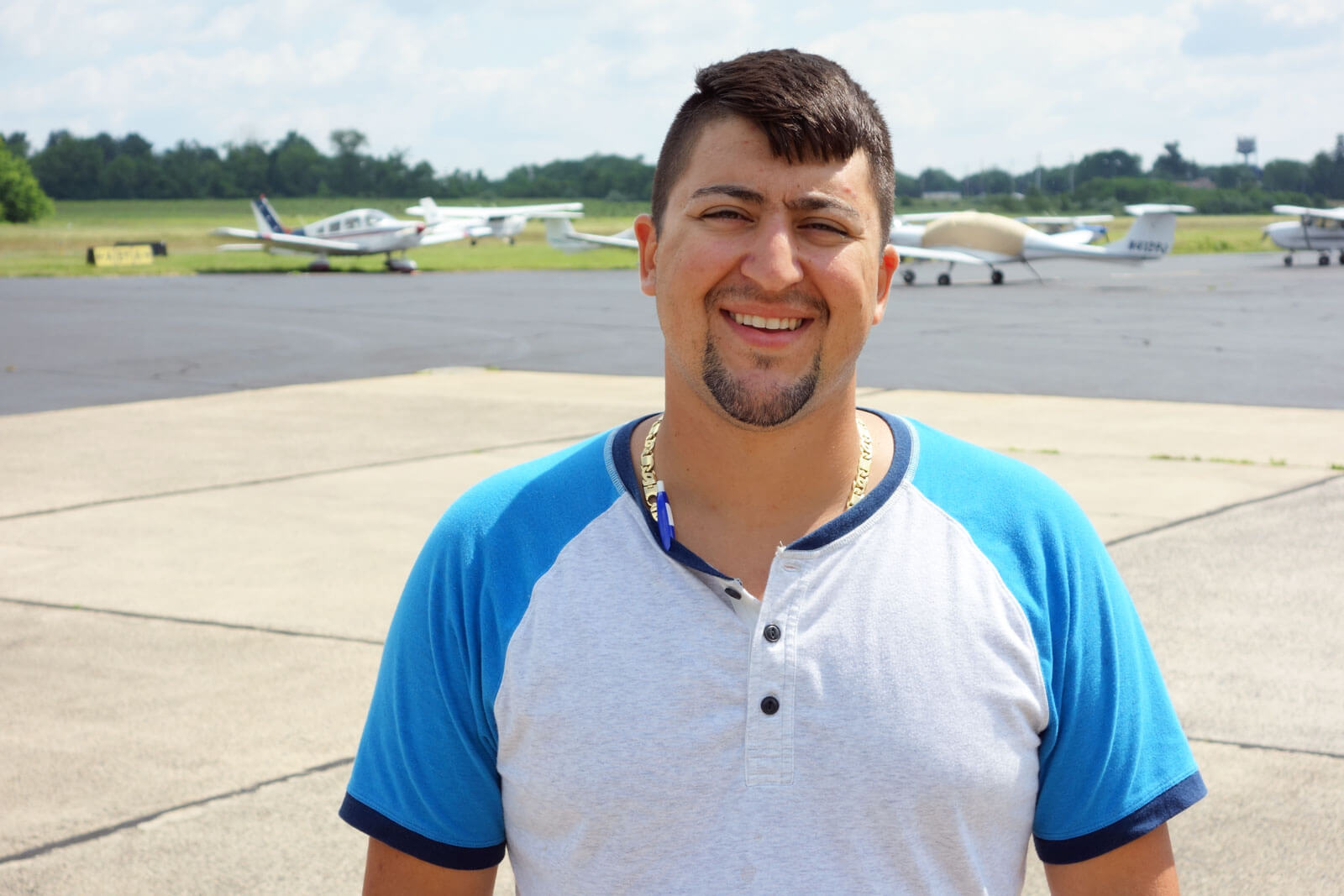 Nick Pengue PFS Flight Coordinator