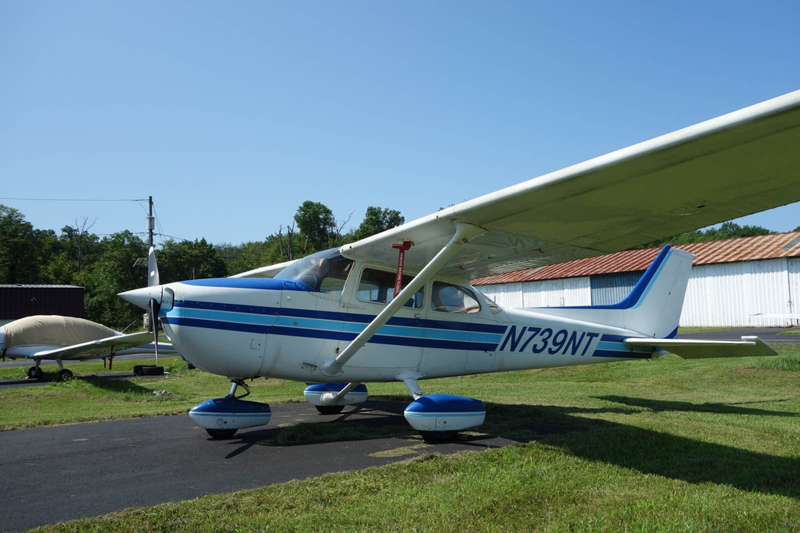 Cessna 172 739NT ~ FOR SALE at Princeton Airport - PRINCETON