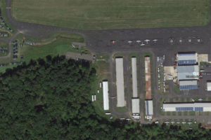 Princeton Airport from the Air