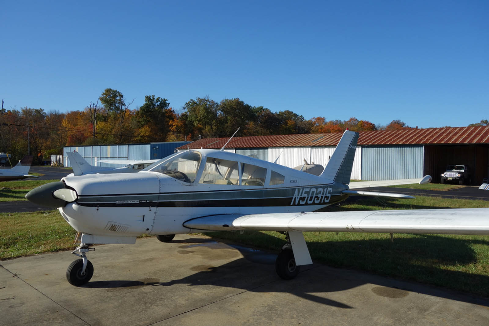 1970 Piper Arrow 200 - FOR SALE at Princeton Airport ~ Contact Ken Nierenberg at 609-731-4628 for details