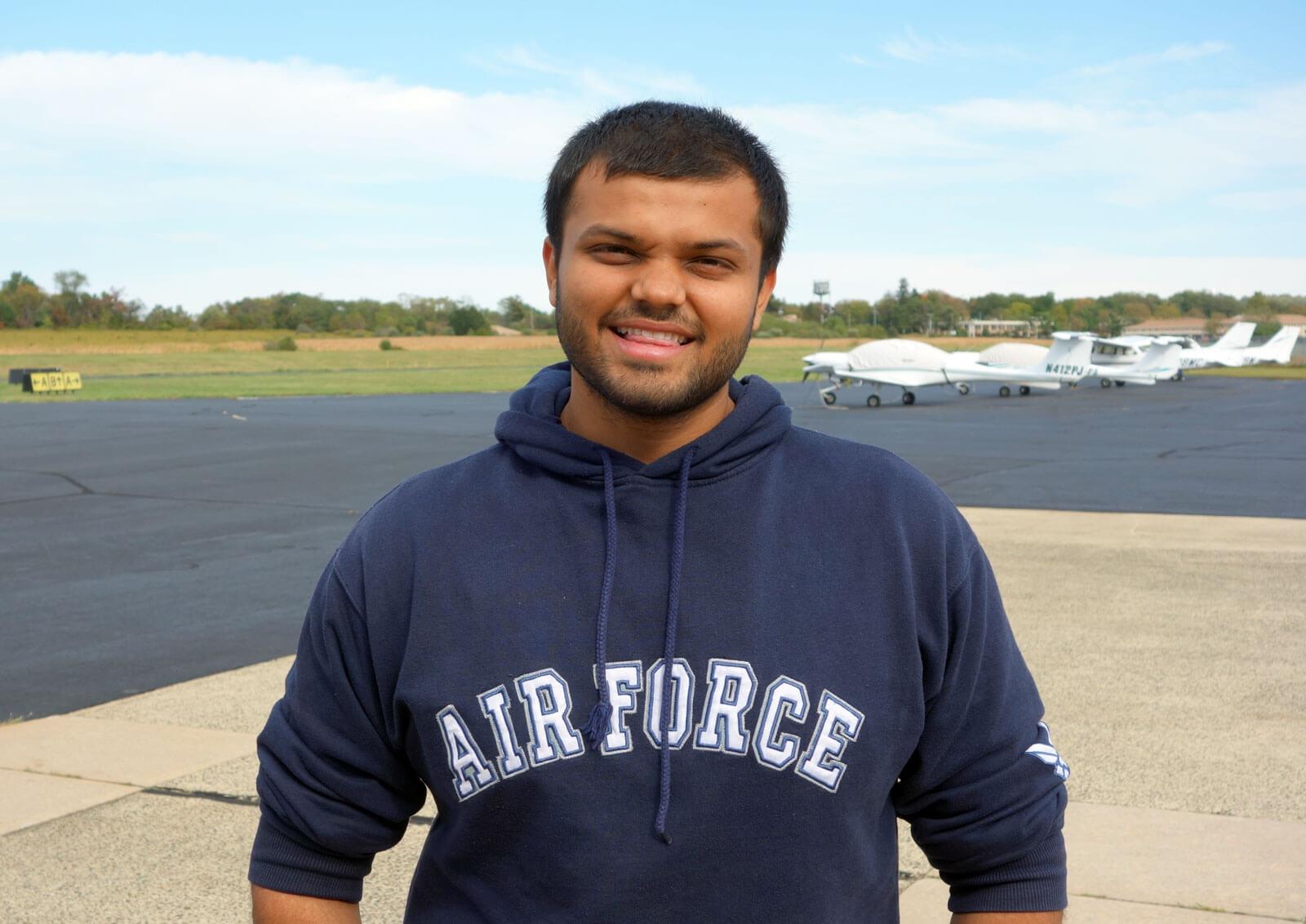 Vaibhav Patel Flight Coordinator Princeton Airport