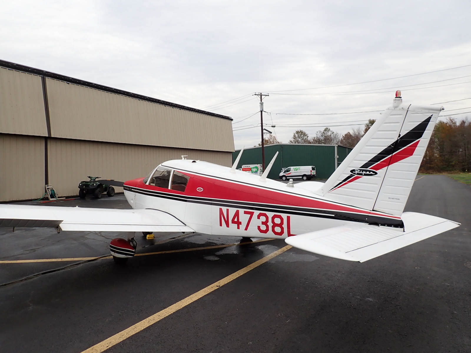 1966 Piper PA-28-180 - FOR SALE at Princeton Airport ~ Contact Ken Nierenberg at 609-731-4628 for details