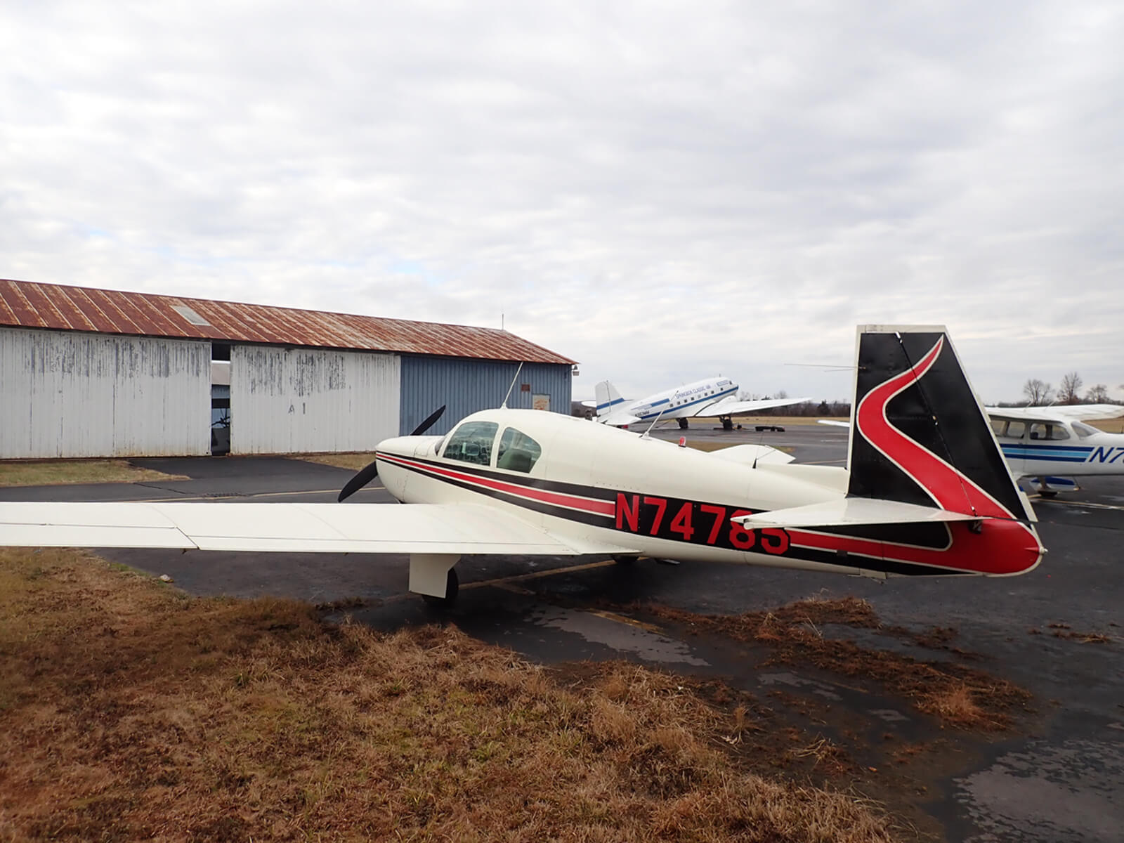 1961 Mooney M20B - FOR SALE at Princeton Airport