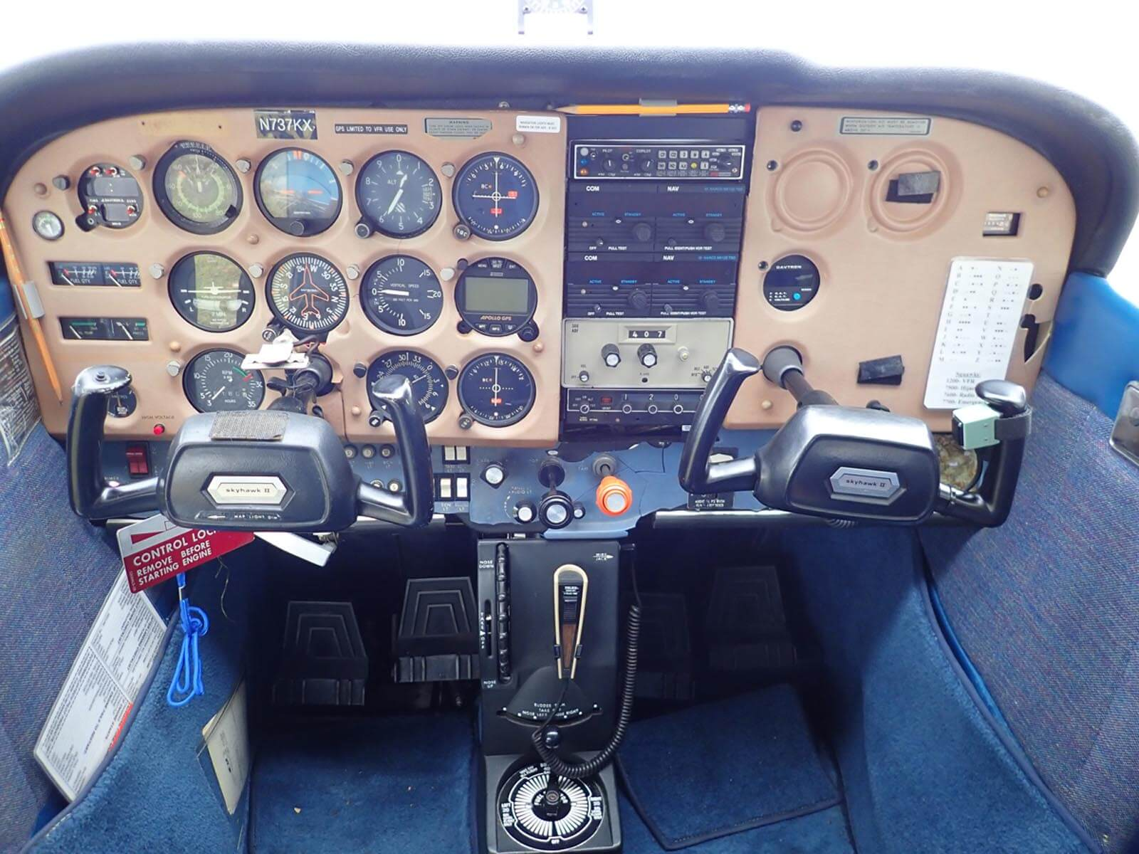 1978 Cessna 172N - FOR SALE at Princeton Airport - Contact Ken Nierenberg at 609-731-4628