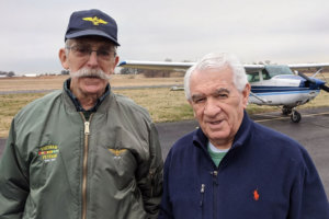 Pete Rafle welcomes Bill Ducharme on the Princeton Flying School Podcast