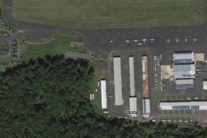Princeton Airport Aerial View