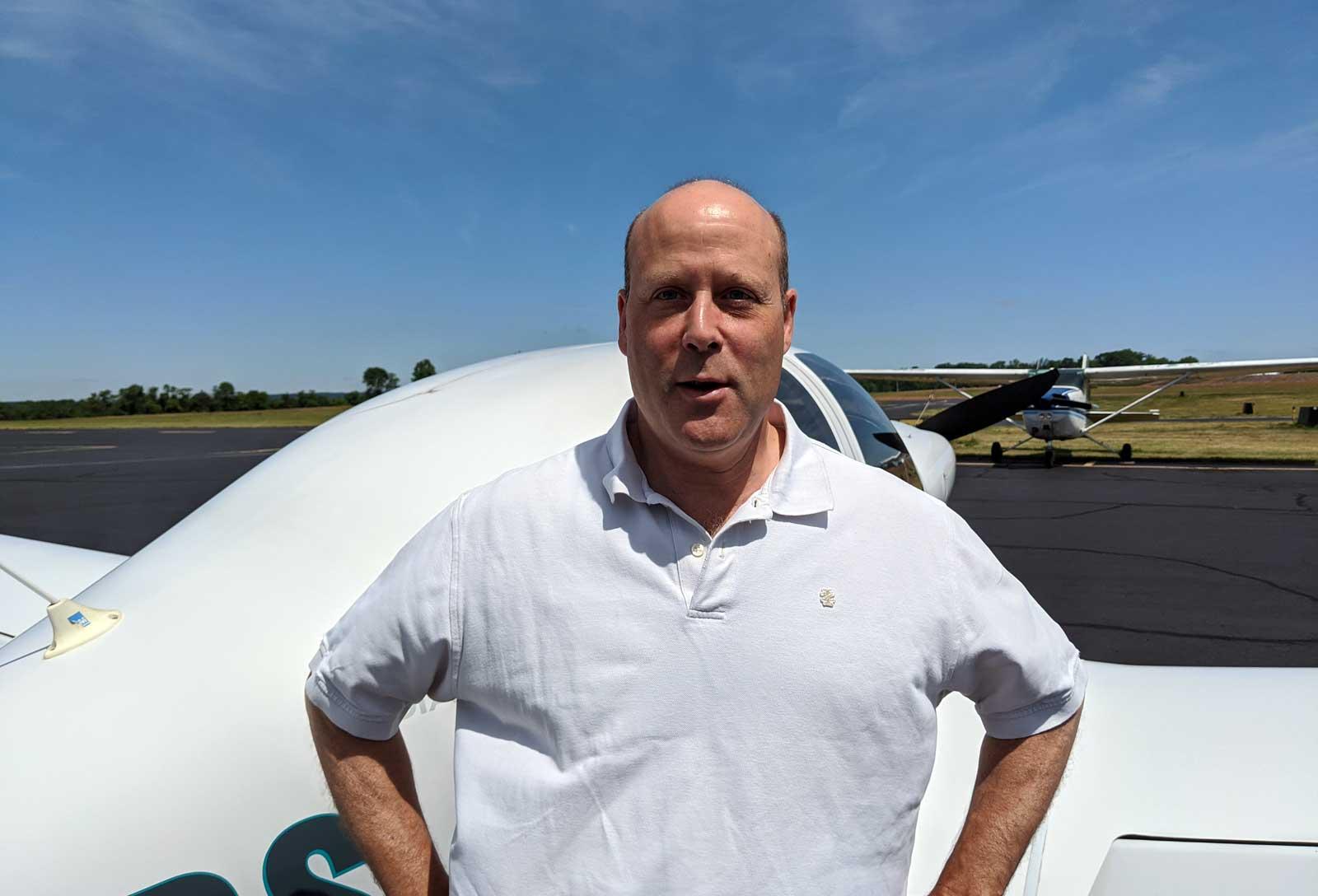 Peter Mercuro, CFI, Princeton Flying School
