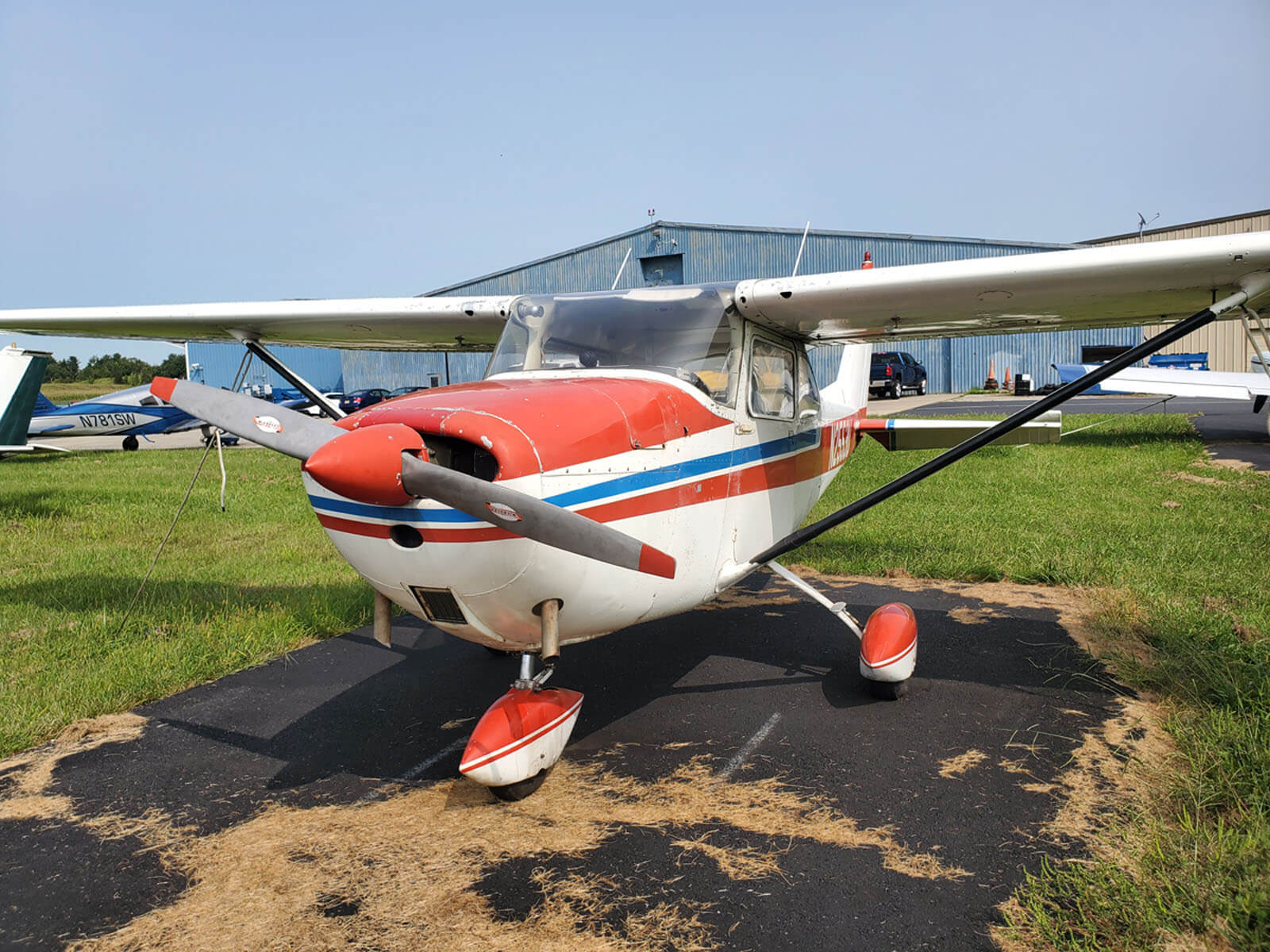 1963 Cessna 172 FOR SALE at Princeton Airport ~ Contact Ken Nierenberg for details 609-731-4628