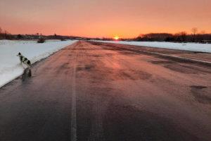 Sunrise at 39N