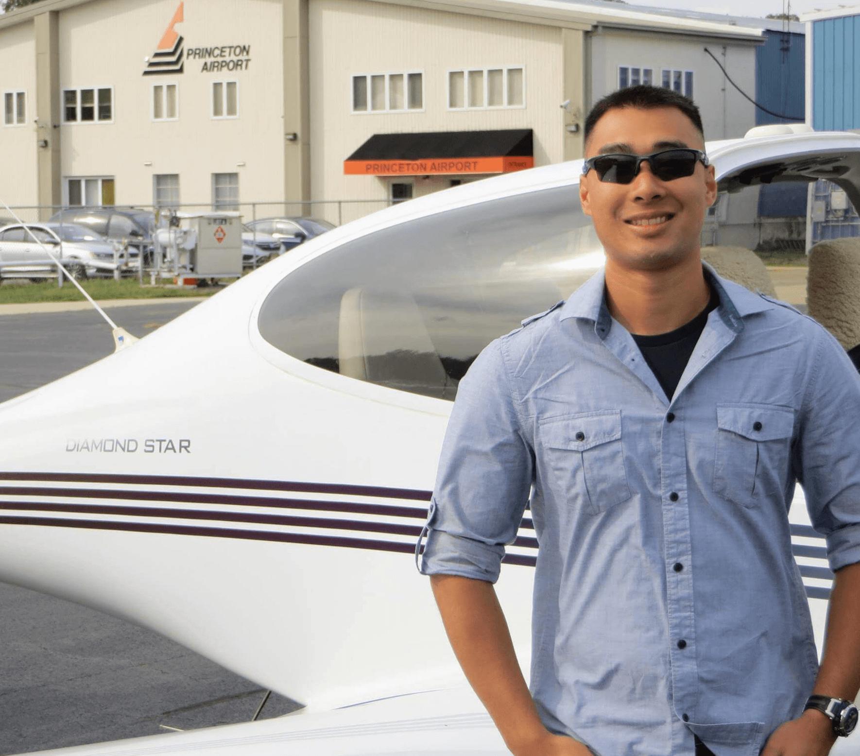 Nate Kijpatanasilp, CFI, Princeton Flying School