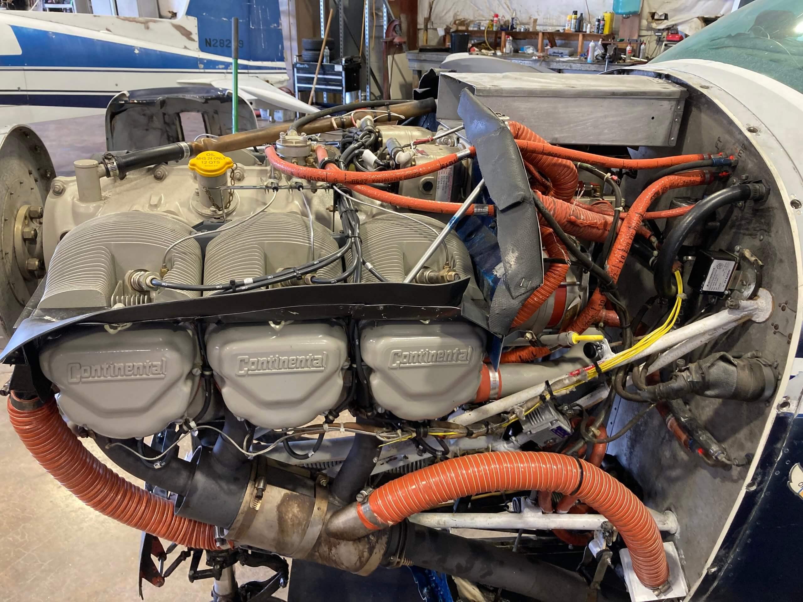 1979 Bellanca Super Viking Engine
