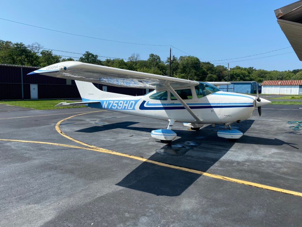 1978 Cessna 182 FOR SALE at Princeton Airport ~ Contact Jack or Ken Nierenberg for details at 609-658-6042