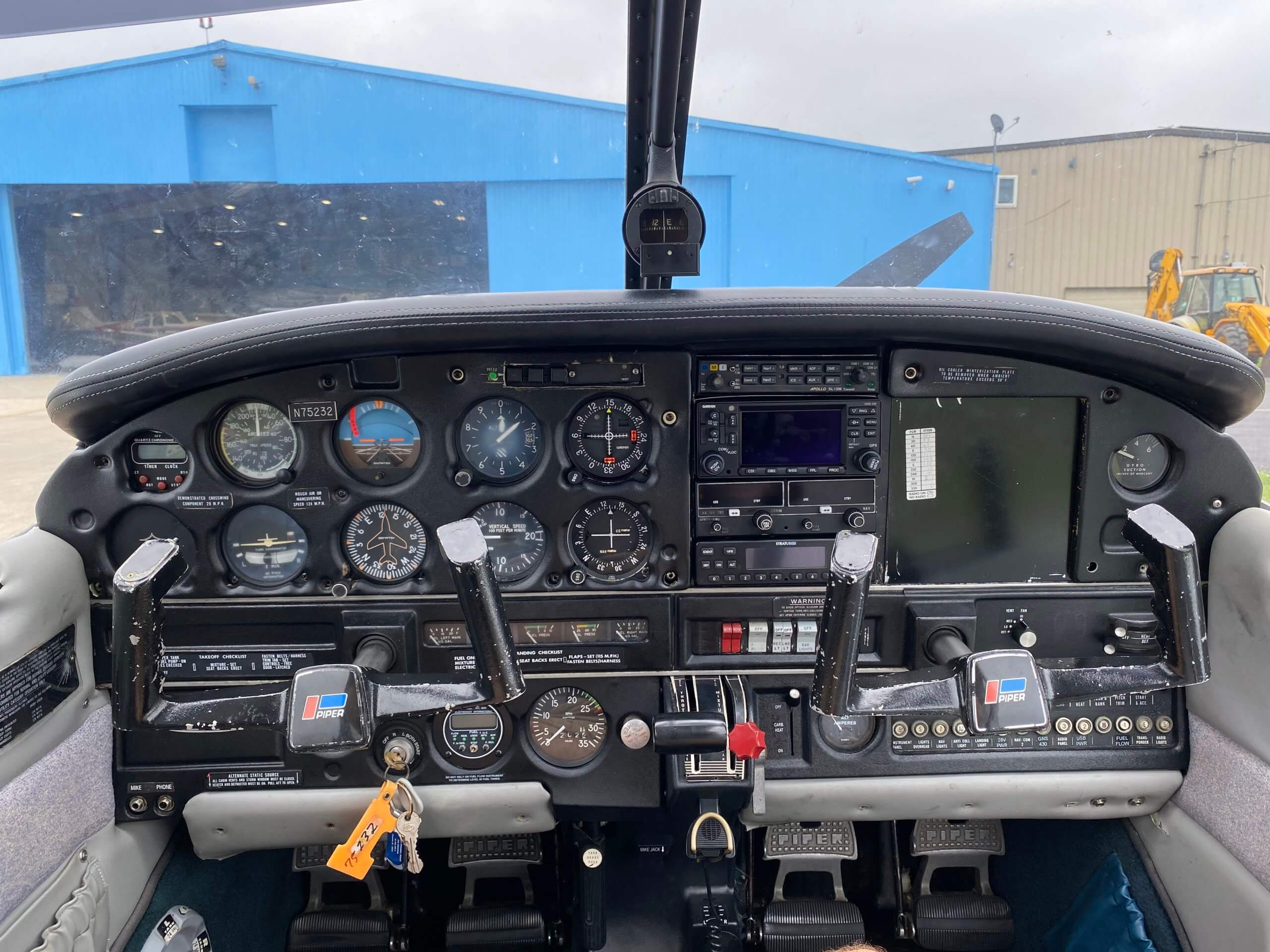 1976 Piper Warrior FOR SALE at Princeton Airport - Contact Jack Nierenberg at 609-658-6042 for details