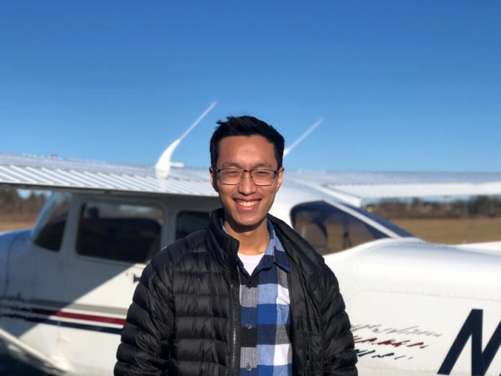 Princeton Flying School CFI Wesley Chin