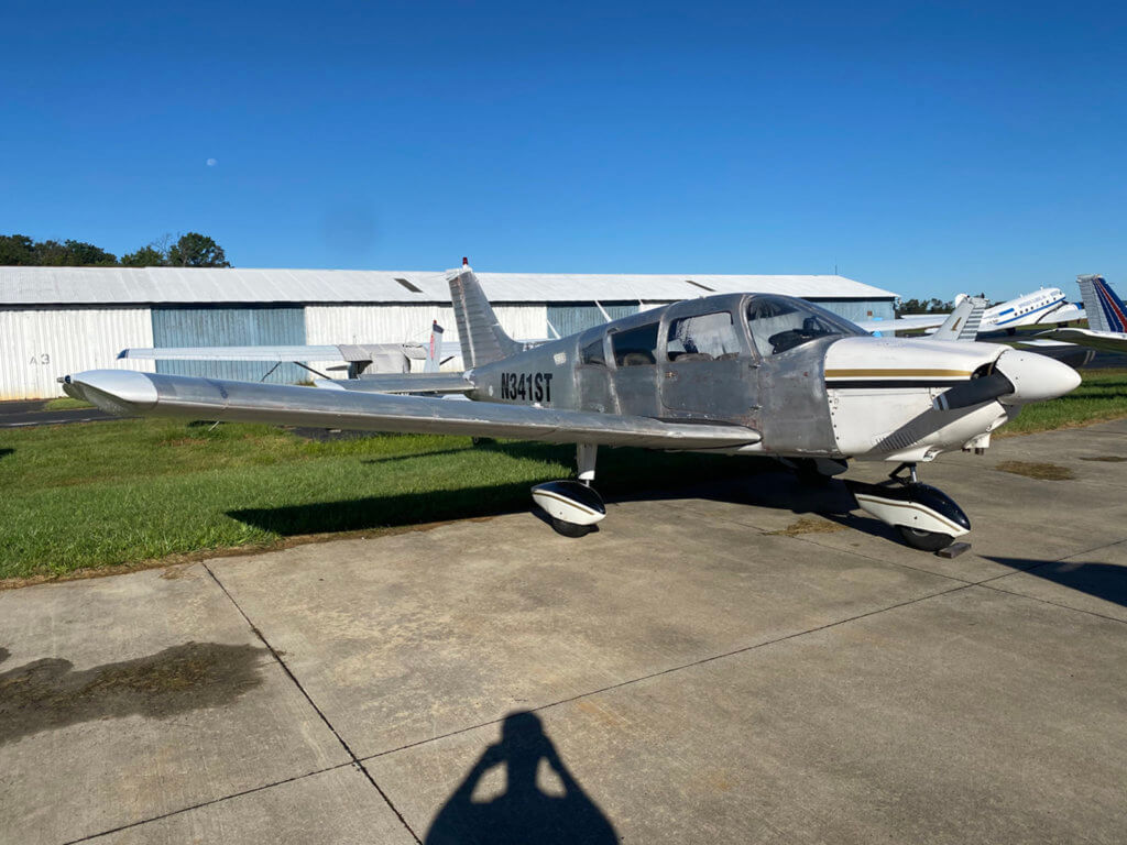 Piper Cherokee 180 N341ST FOR SALE at Princeton Airport