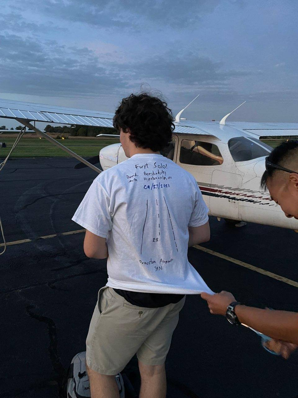 princeton airport first solo